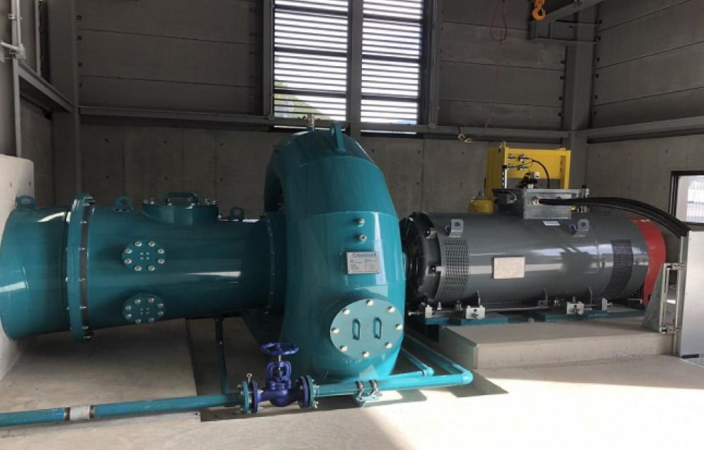 Obuse Matsukawa Hydraulic Power Plant
