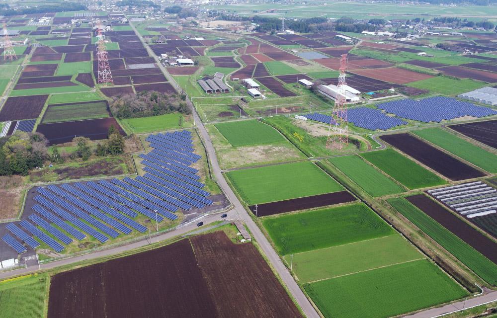 合志農業活力プロジェクト太陽光発電所