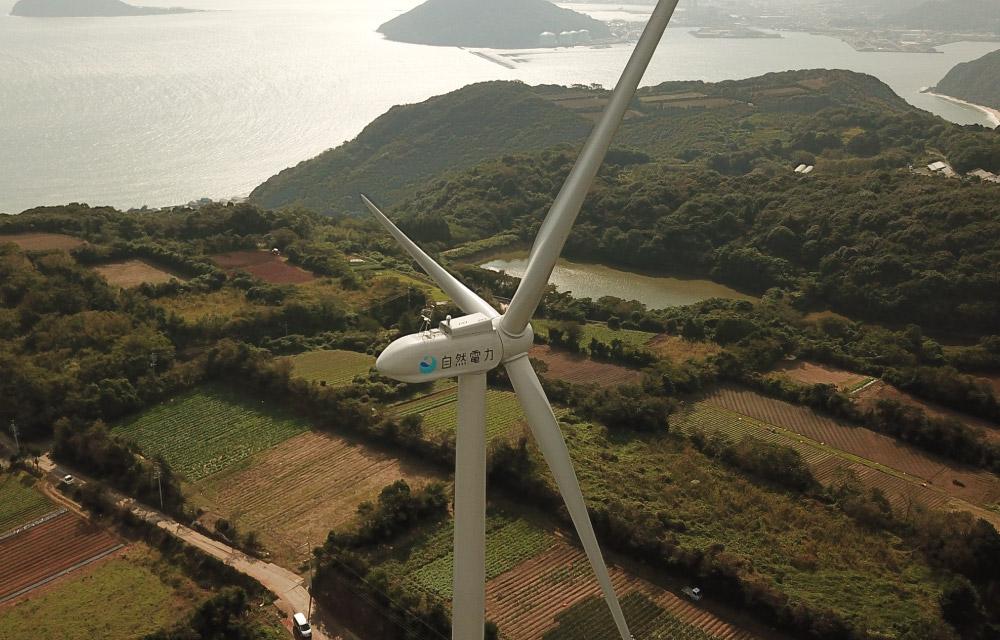 唐津市湊風力発電所
