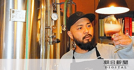 朝日新聞 全国版(その2)自然電力グループが行っている地域への還元事業の1つ、熊本県のクラフトビールを生産する鍛島悠作さんとのレシピ開発が紹介されました