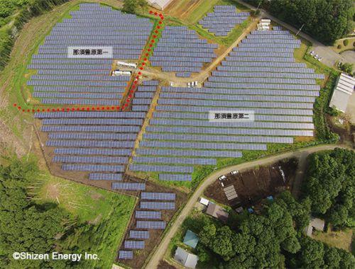 自社グループ保有の那須豊原第二太陽光発電所が完工