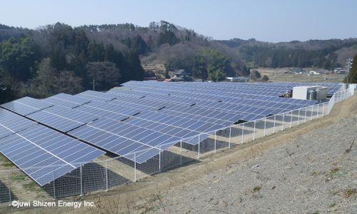 juwi自然電力福島棚倉太陽光発電所が完工