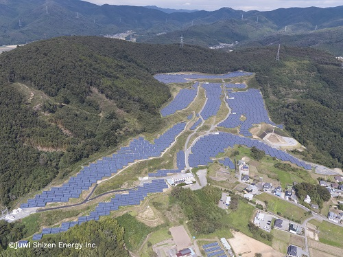 Ishinomaki Numazu 14MW Photovoltaic Power Plant in Miyagi Prefecture, has been completed by juwi Shizen Energy