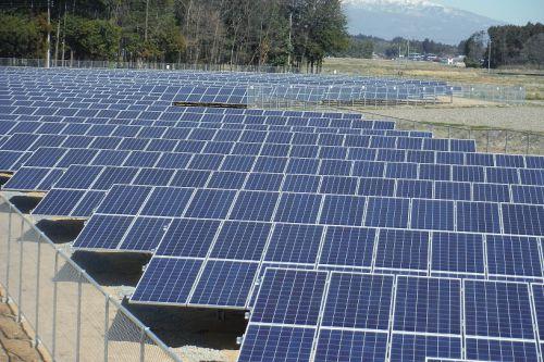 「那須野が原太陽光発電所」完工