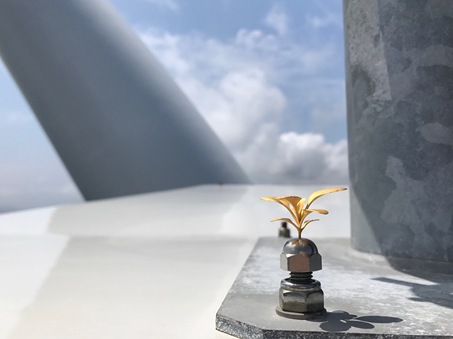 自然電力が遠山正道×PARTYが手掛けるThe Chain Museumと 共同でアートプロジェクトに取り組みます ~「唐津市湊風力発電所」をはじめ、唐津市内の5カ所に作品を展示~