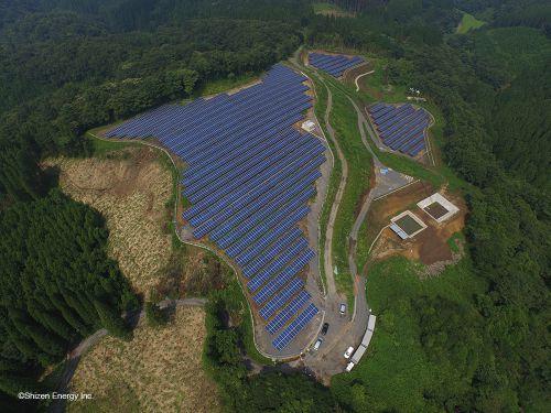 大分県竹田市に「竹田希望ヶ丘太陽光発電所」が完工