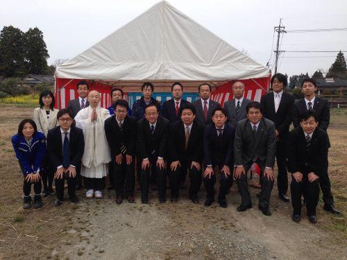 日本アジア投資株式会社と協業で 熊本県球磨郡錦町にメガソーラーを建設、起工式を実施