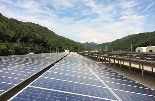 自然電力グループ自社保有のメガソーラー発電所 プロジェクトファイナンスを締結