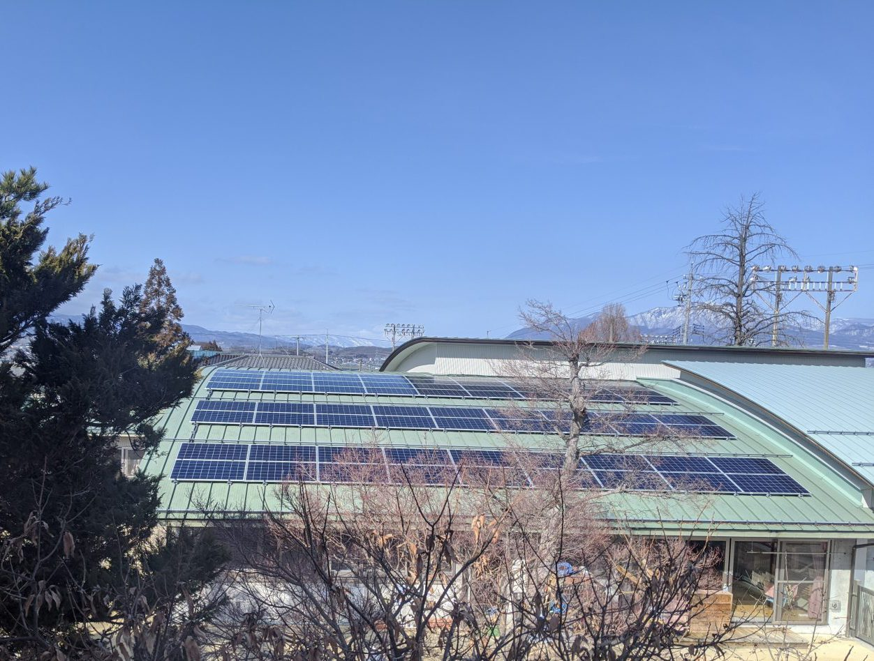 ながの電力にて、太陽光発電所導入・発電サービス「ながの電力のやねソラ」を開始しました