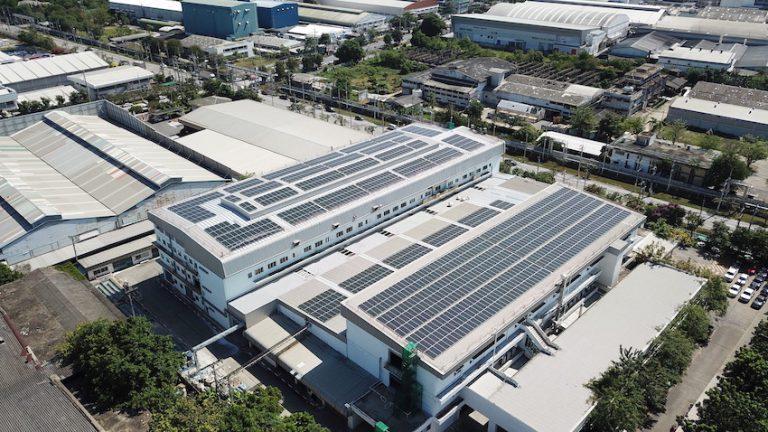 自然電力とConstant Energy、タイでのコーポレートPPAモデルによる産業用・工業用屋根置き太陽光発電所7拠点を完工