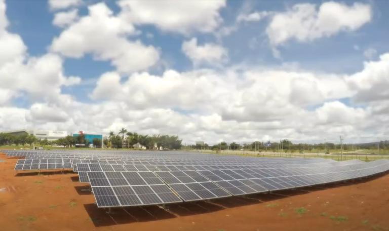 ブラジルにて太陽光発電所が運転開始 ブラジリアの国際空港へ電力供給を行う
