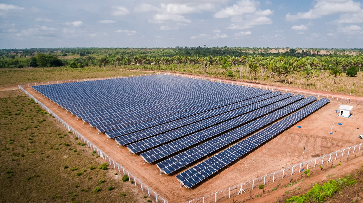 Shizen Energy completes construction of a solar power plant in Brazil to supply Power to Bank of Brazil