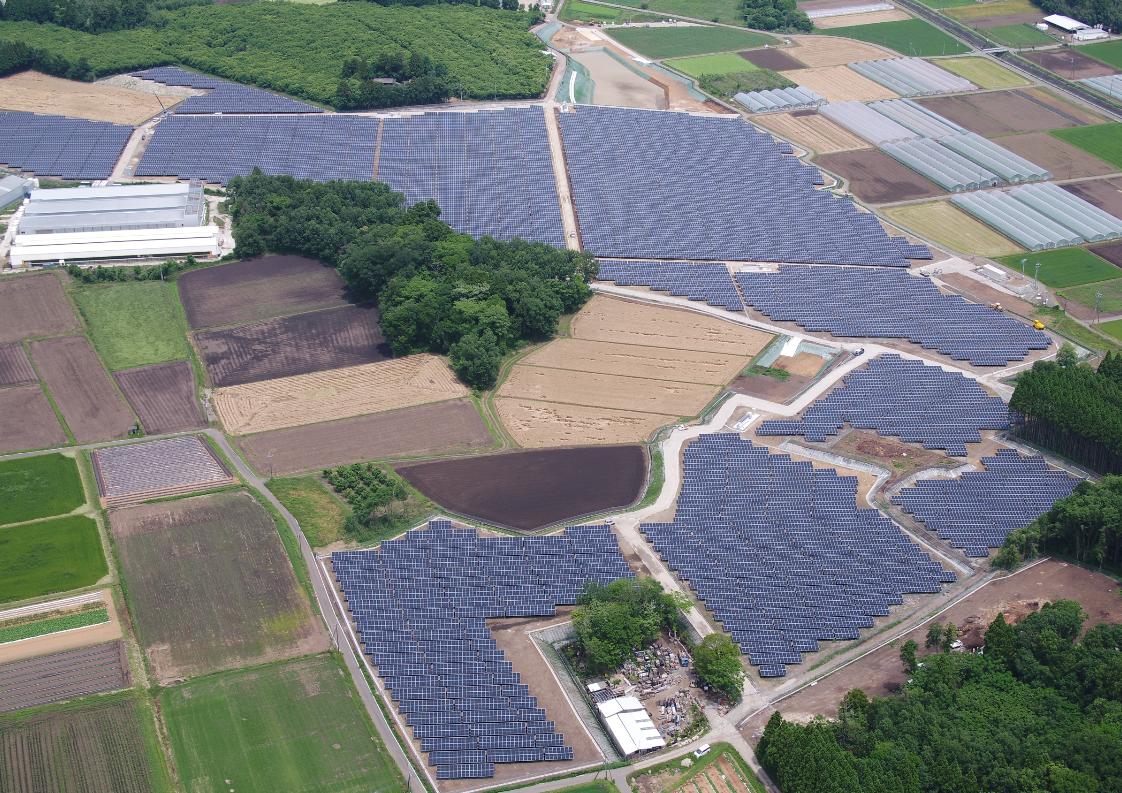 "juwi Shizen Energy Completed 15MW Solar Power Plant ""Kikuchi Shisui Solar Park"" in Kumamoto Prefecture"