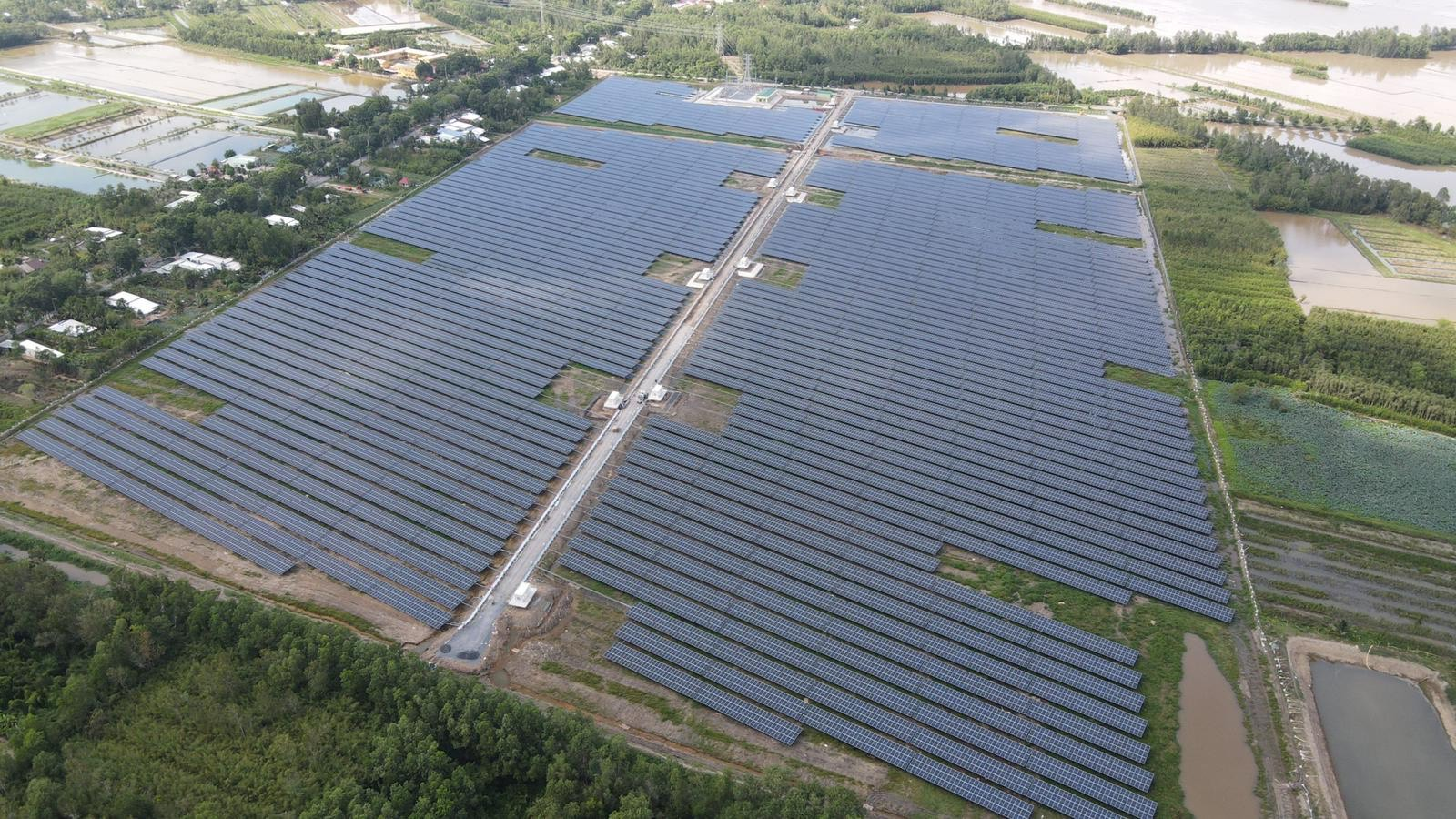 Shizen Energy Achieves Commercial Operation of The First Solar Project in Vietnam