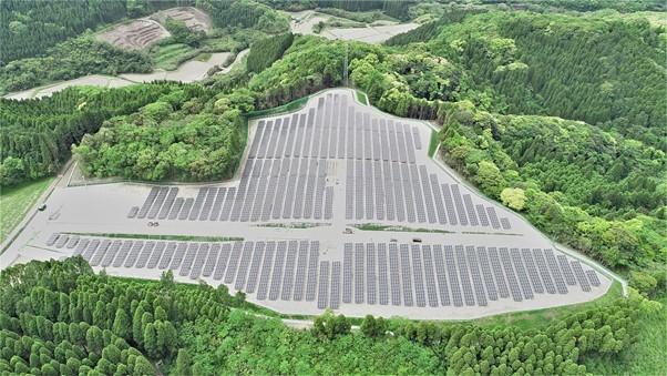自然電力、鹿児島県霧島市にて太陽光発電所2カ所を完工・運転開始