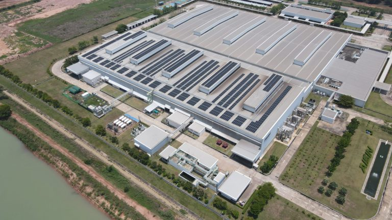 Aisin Thai Automotive Casting (Aisin Group) and Shizen Energy / Constant Energy completed a first solar rooftop with a Corporate PPA as Shizen Energy's first solar rooftop project under a PPA scheme in Thailand